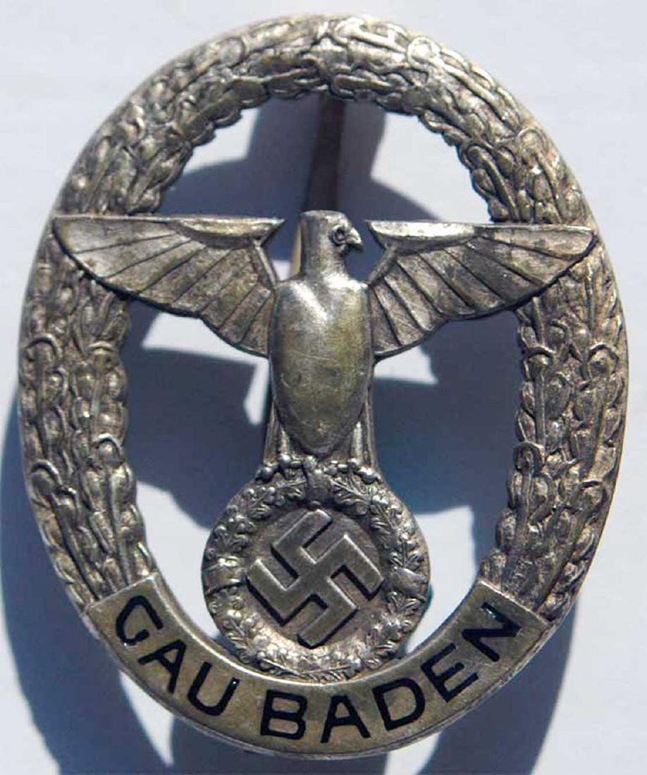 German WW2 Tradition Clasp State of Baden