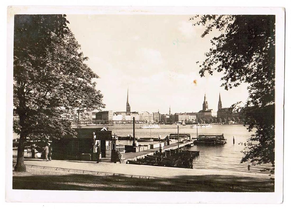 German WW2 Postcard belonged to Commander U-370 - 2