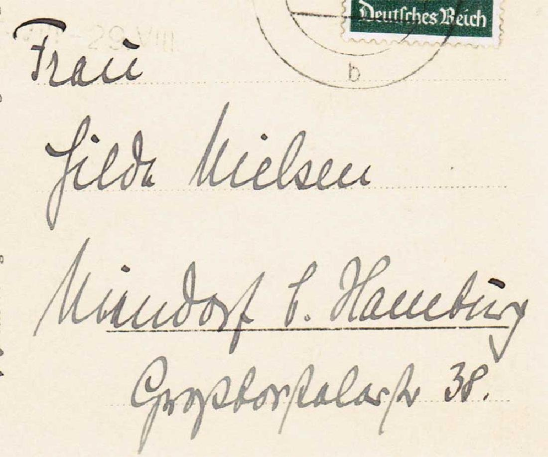 German WW2 Postcard, U-370 Oberleutnant Karl Nielsen - 3