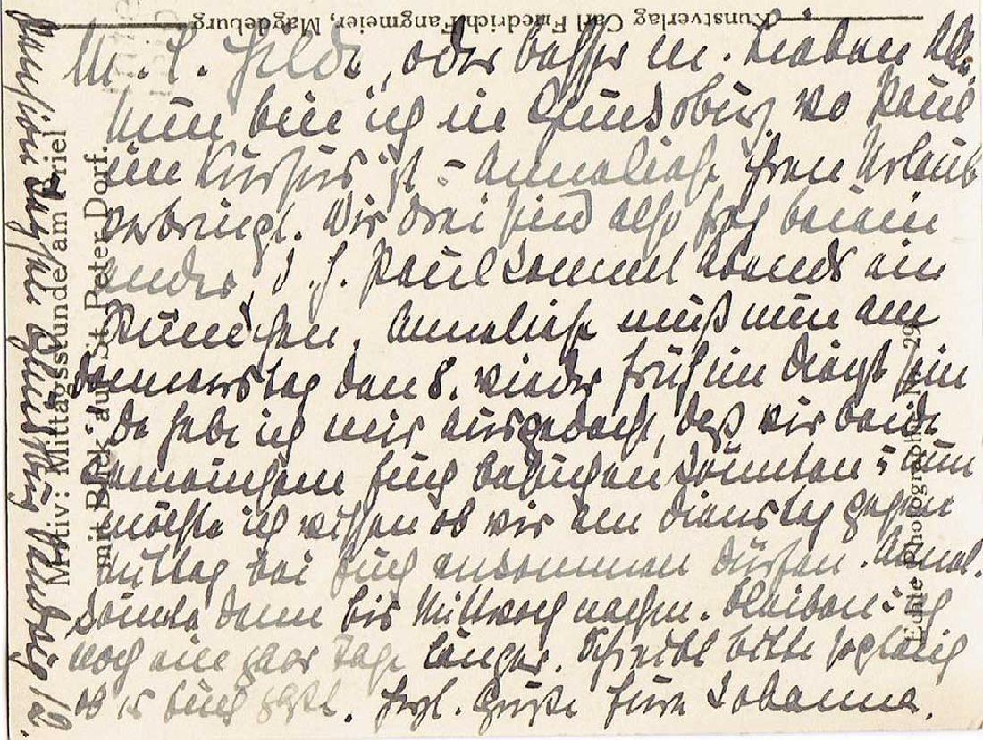 German WW2 Postcard, U-370 Oberleutnant Karl Nielsen - 5