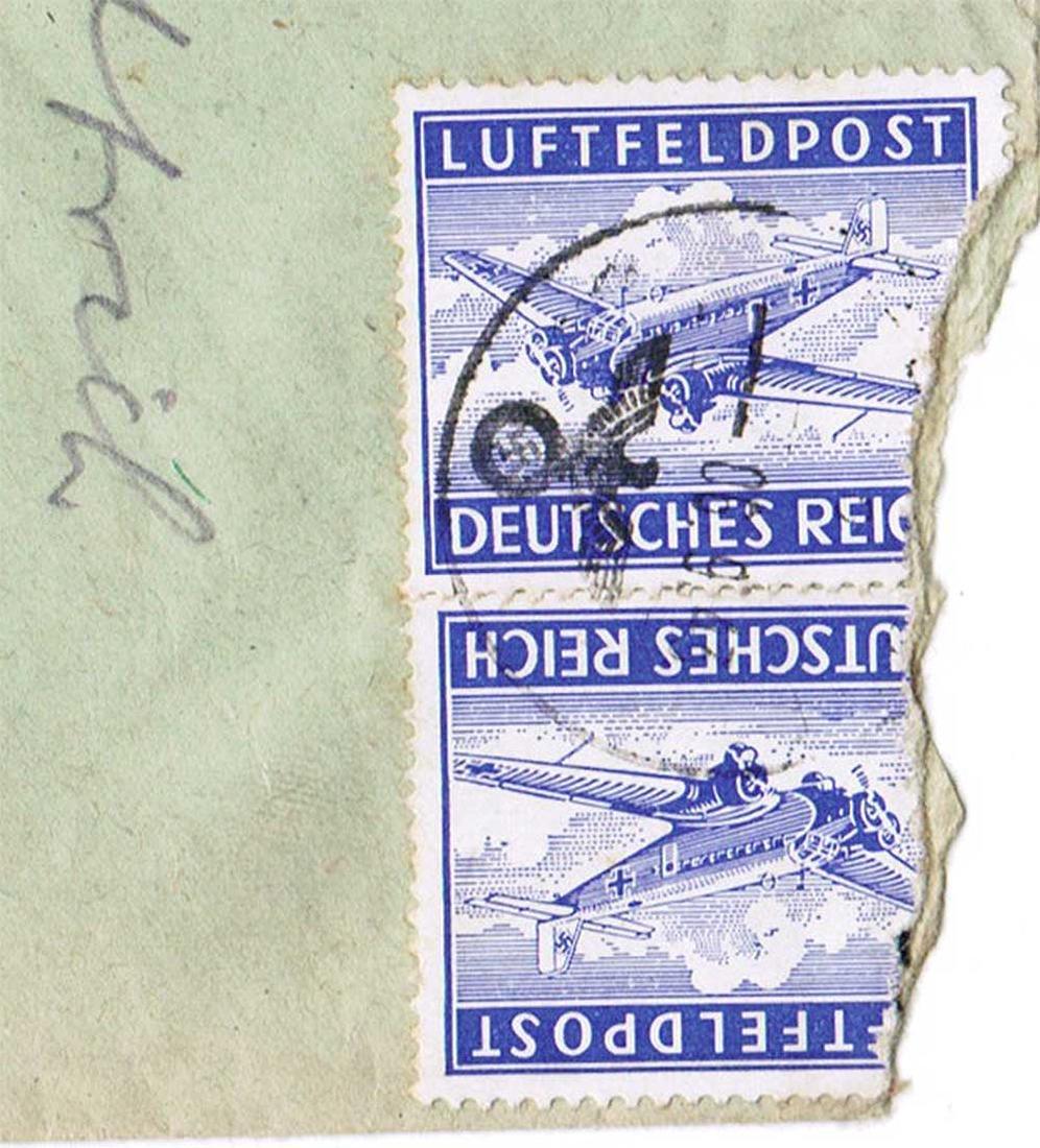 German WW2 Cover Letter LUFTFELDPOST, U-370
