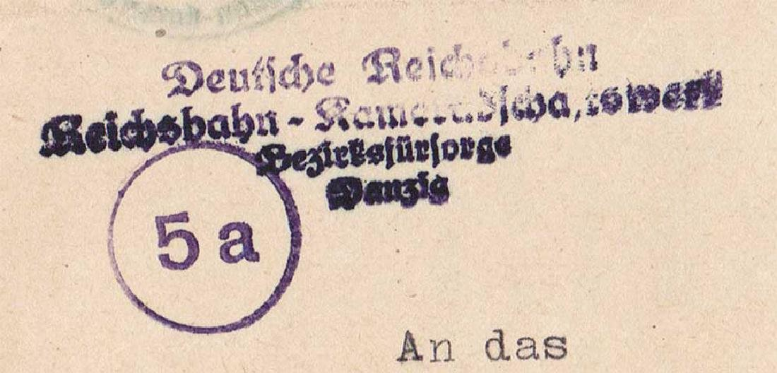 German WW2 Document, Tuberculosis Care, 1944 - 8