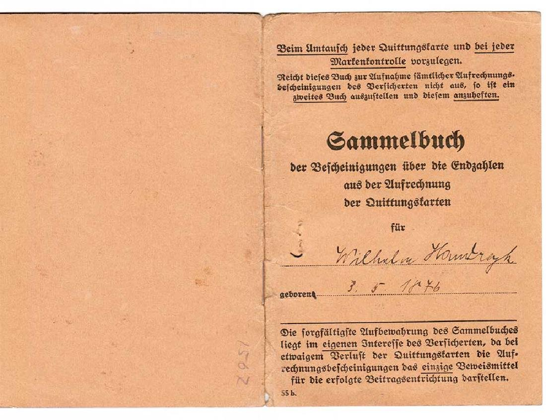 German WW2 Document Sammelbuch, 1939-1940 - 2