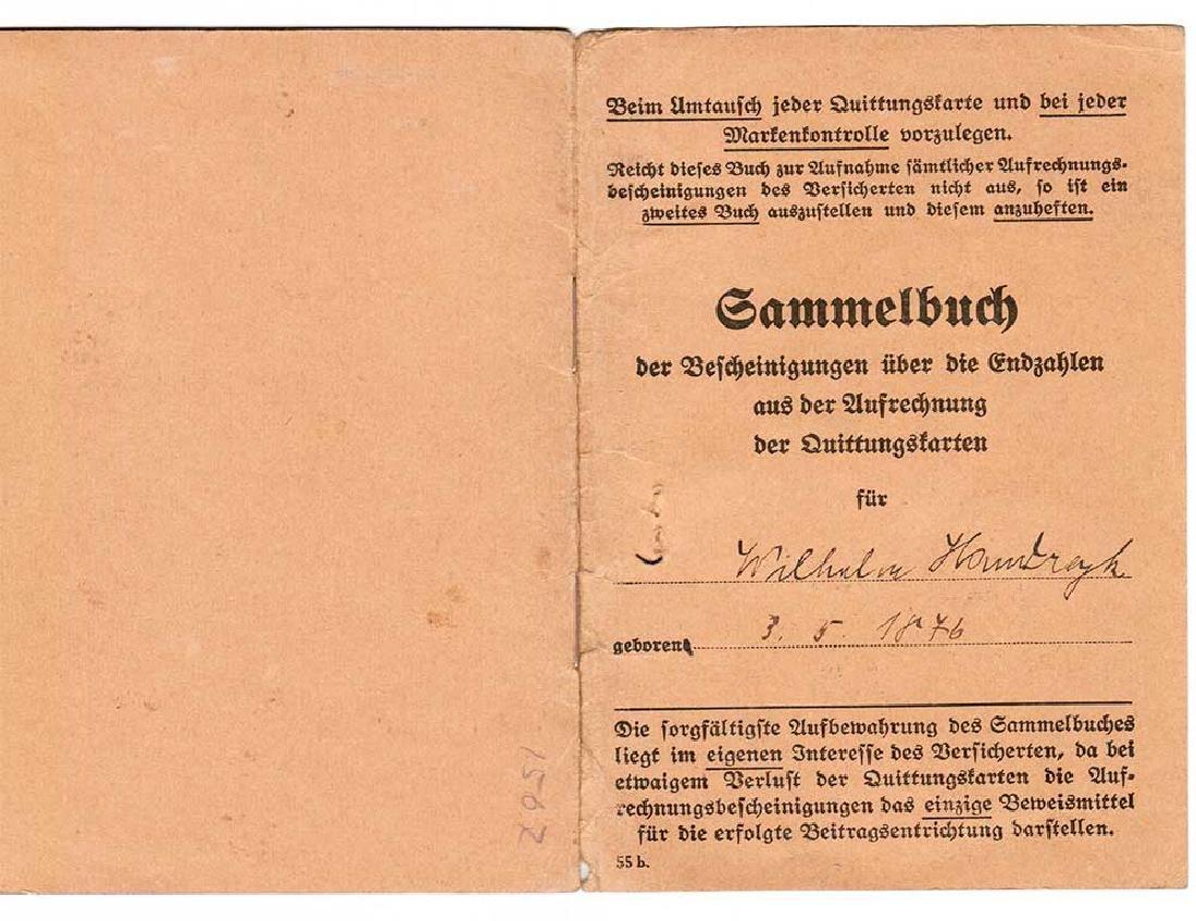 German WW2 Document Sammelbuch, 1939-1940 - 2