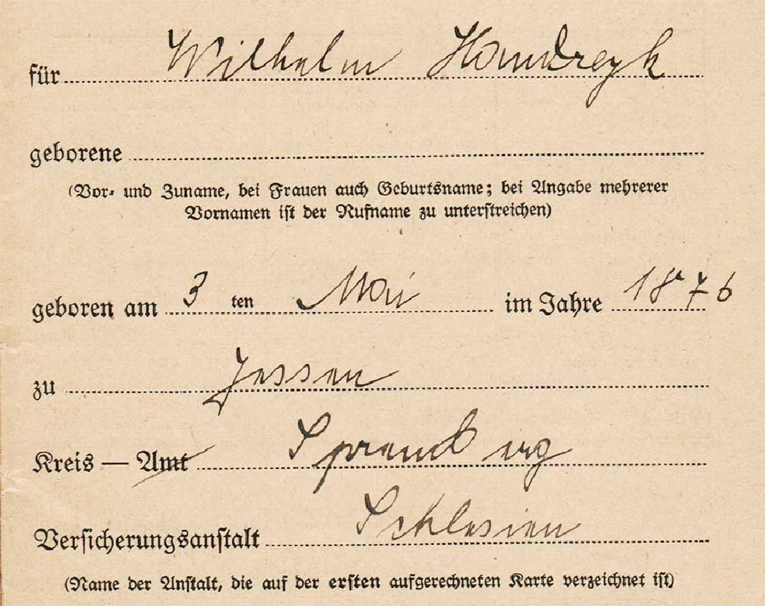 German WW2 Document Sammelbuch, 1939-1940 - 5