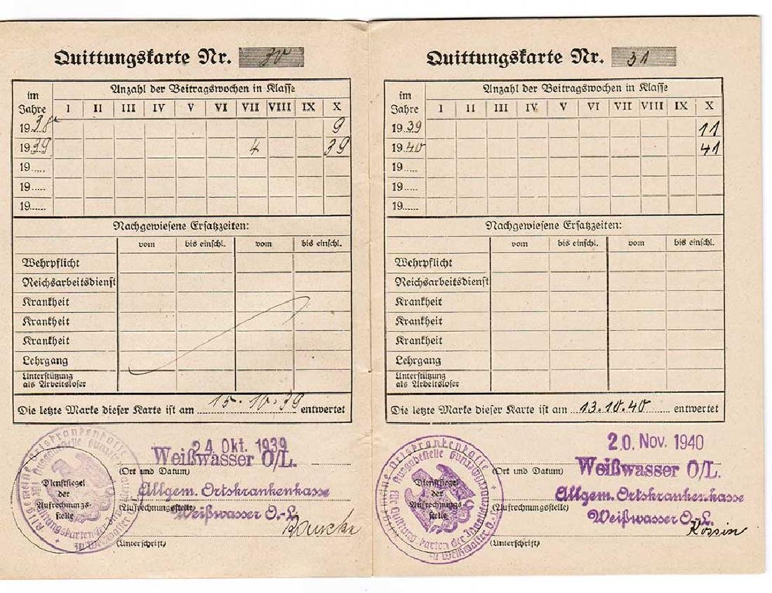 German WW2 Document Sammelbuch, 1939-1940 - 6