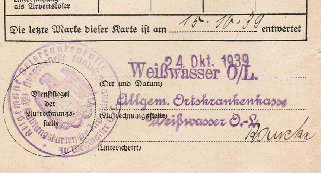 German WW2 Document Sammelbuch, 1939-1940 - 7