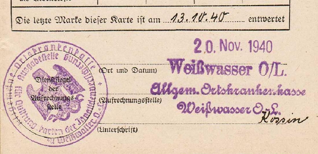 German WW2 Document Sammelbuch, 1939-1940 - 8