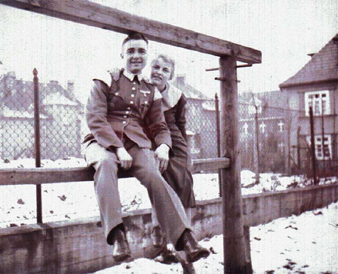German WW2 Photo Negative of German Soldier - 4