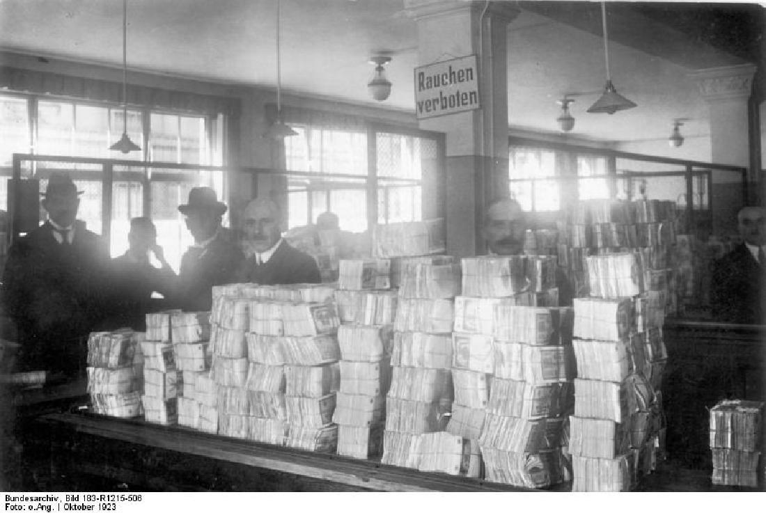 German WW2 Deutche Reichsbank Bag w. Eagle - 7