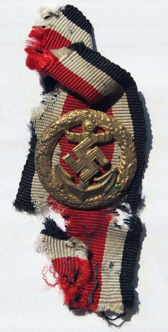 German WW2 KRIEGSMARINE HONOUR ROLL/CLASP