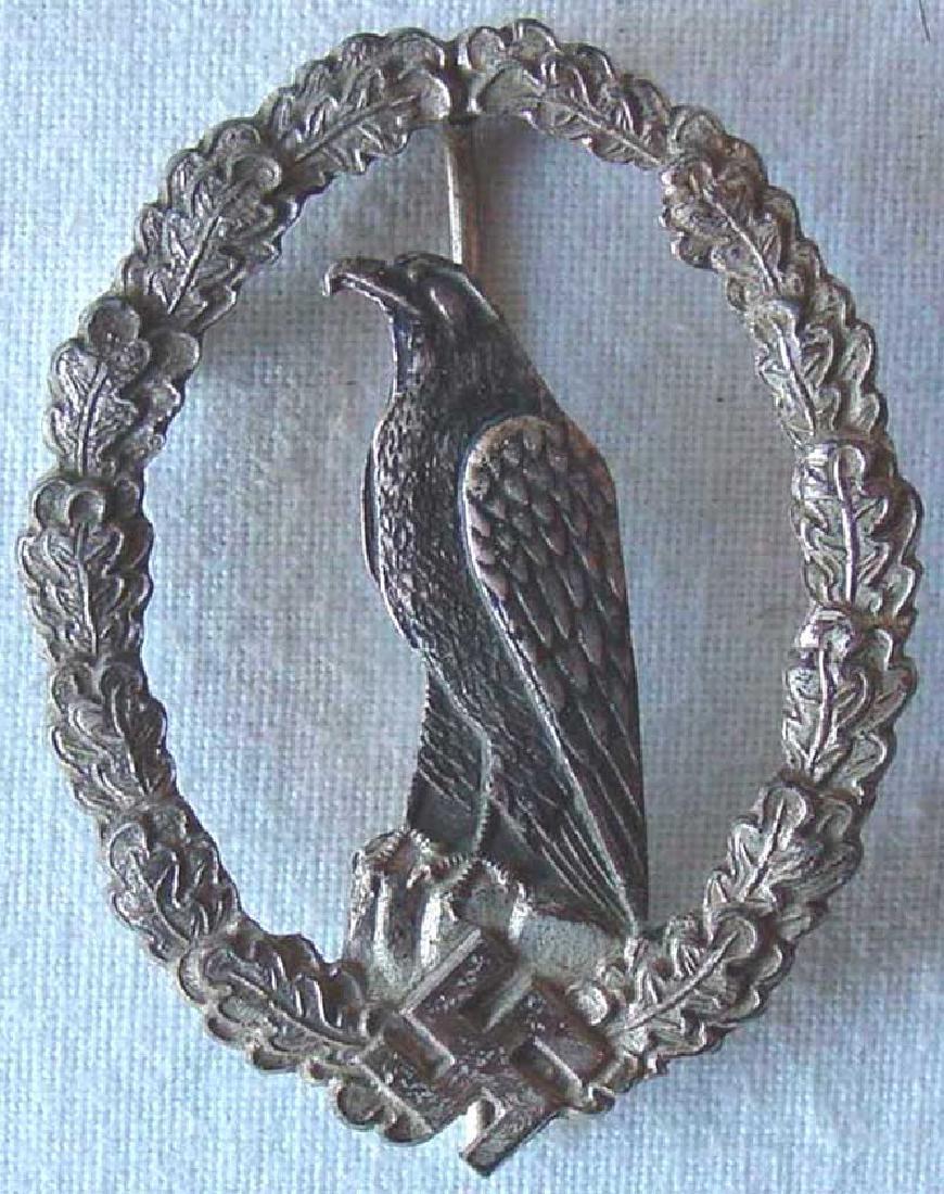 German WW2 Luftwaffe Flyers Commemorative Badge