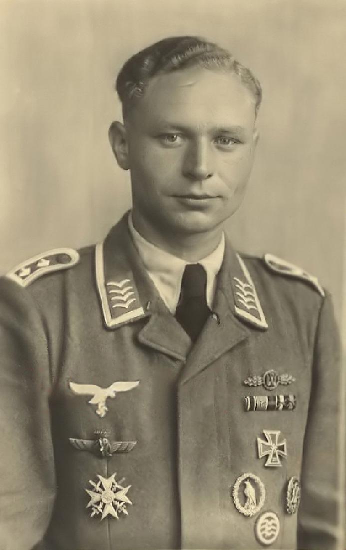 German WW2 Luftwaffe Flyers Commemorative Badge - 4