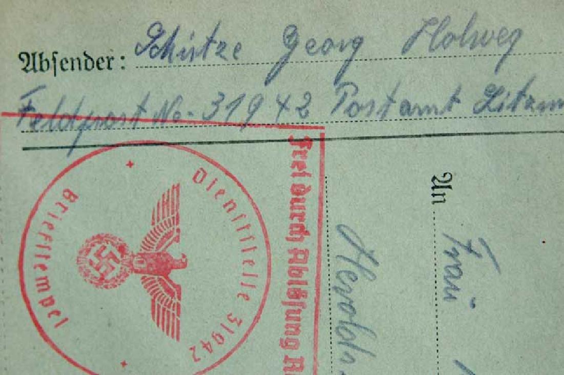Original Jewish WW2 Letter fr. Litzmannstadt, 1940 - 2