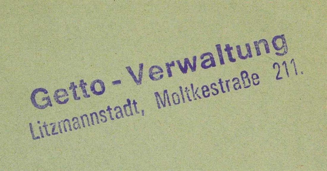 Original Jewish WW2 Letter fr. Litzmannstadt, 1940 - 6
