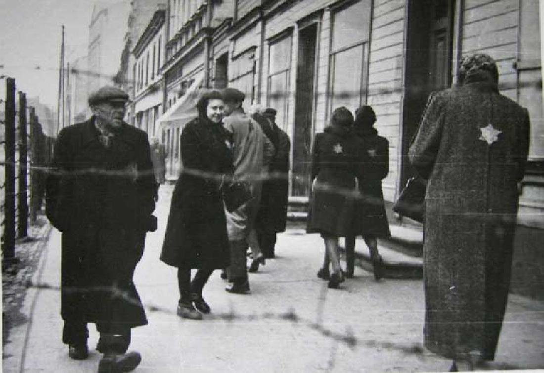 WW2 Letter, Jewish Ghetto in LITZMANNSTADT, 1940 - 6