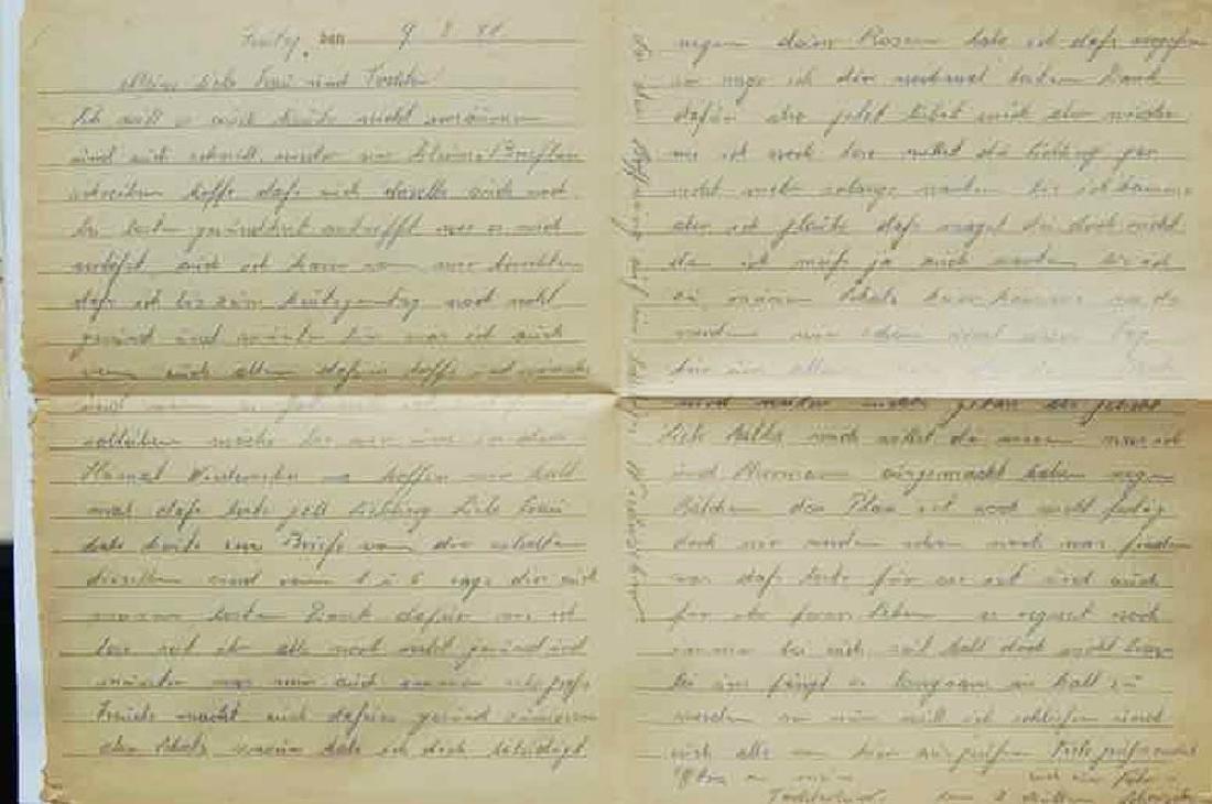 WW2 Letter fr. GHETTO in LITZMANNSTADT, 1941 - 3