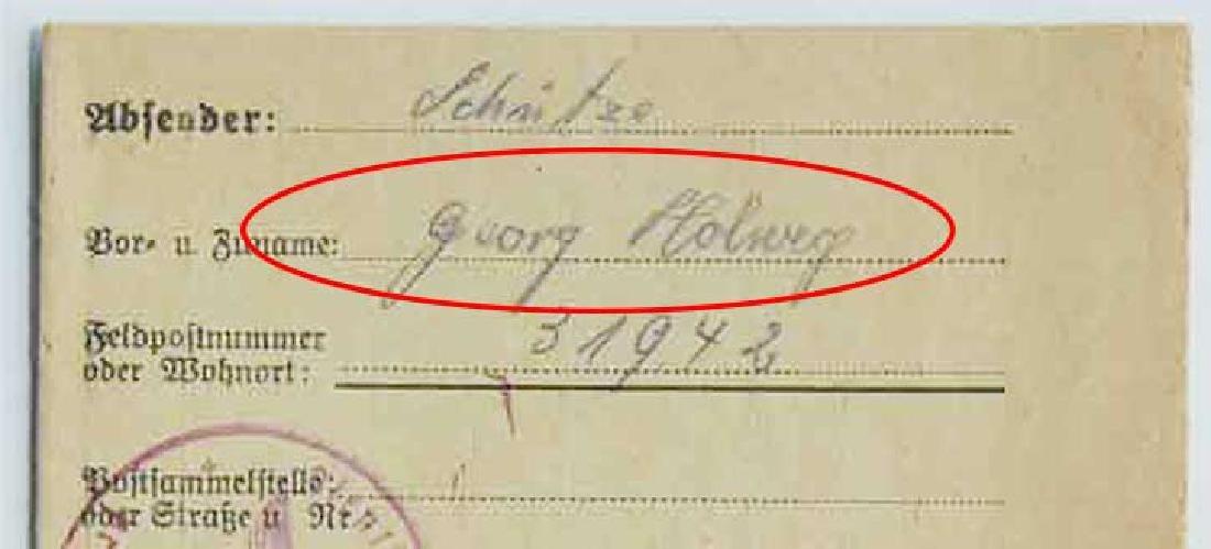 WW2 Letter fr. GHETTO in LITZMANNSTADT, 1941 - 5