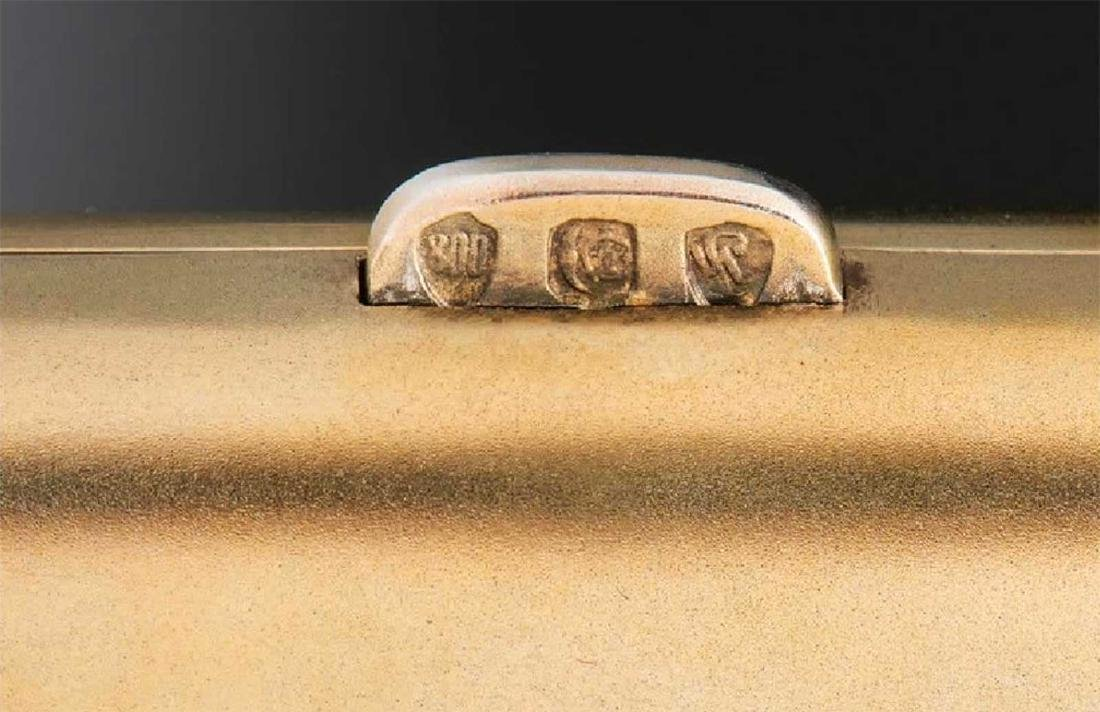 GERMAN Cigarette Case, Cigarette Holder, Match Safe - 6