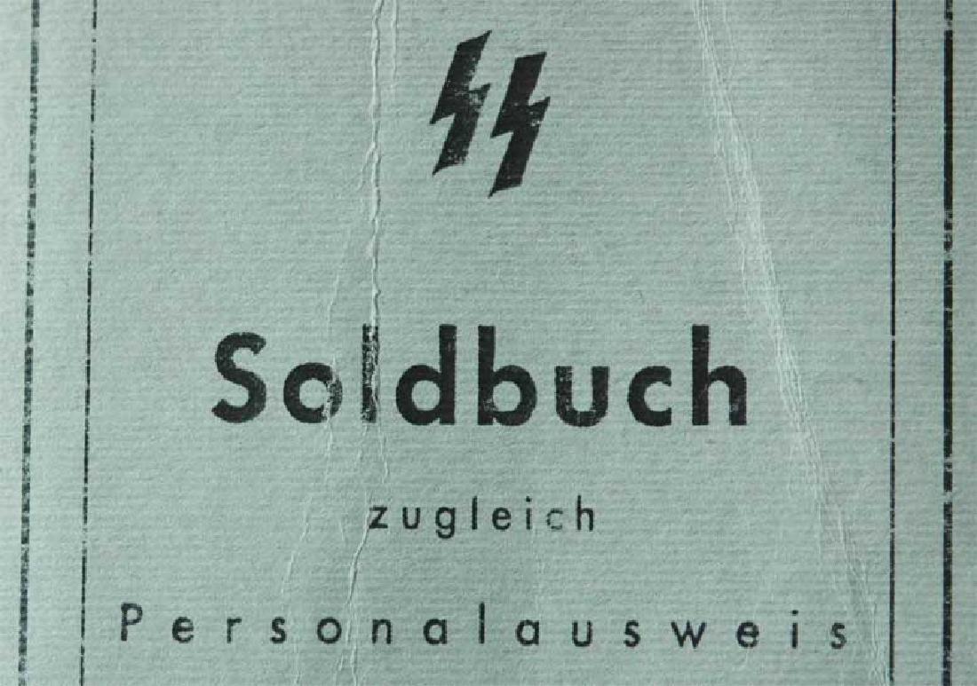 German WW2 Waffen SOLDBUCH, empty - 2