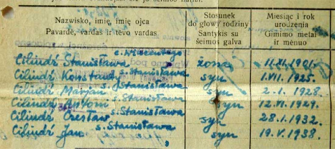 Extremely Rare Polish WW2 Document Evacuation, 1945 - 3