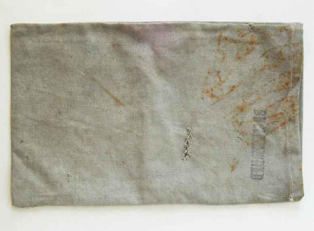 German WW2 Deutche Reichsbank Bag, BUCHENWALD - 3