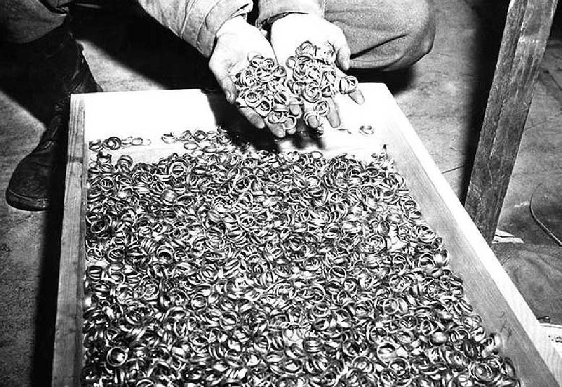 German WW2 Deutche Reichsbank Bag, BUCHENWALD - 8