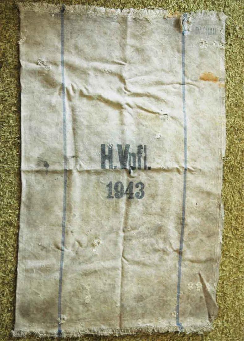 German WW2 Bag for Gold & Money fr. Concentration Camp - 3