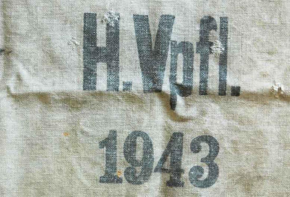 German WW2 Bag for Gold & Money fr. Concentration Camp - 4