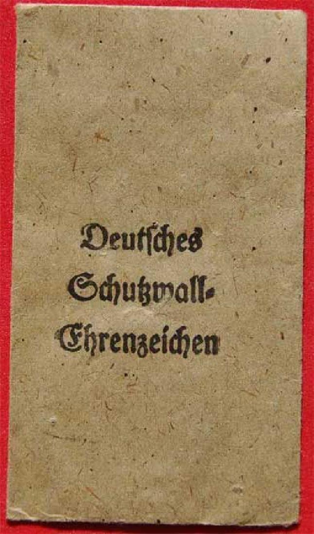 German WW2 envelope for German awards, stamped