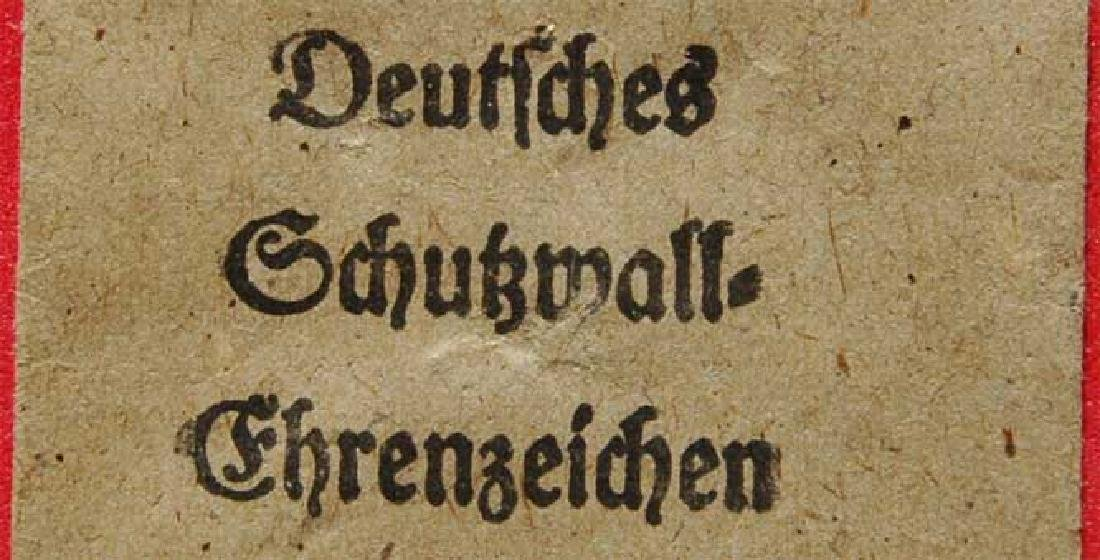 German WW2 envelope for German awards, stamped - 2