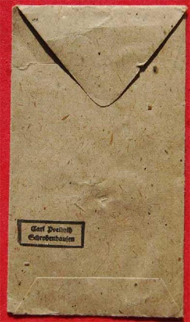 German WW2 envelope for German awards, stamped - 3