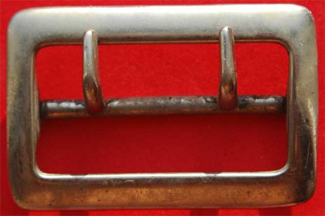 German WW2 Whermacht Officers Belt Buckle, Unusual mark