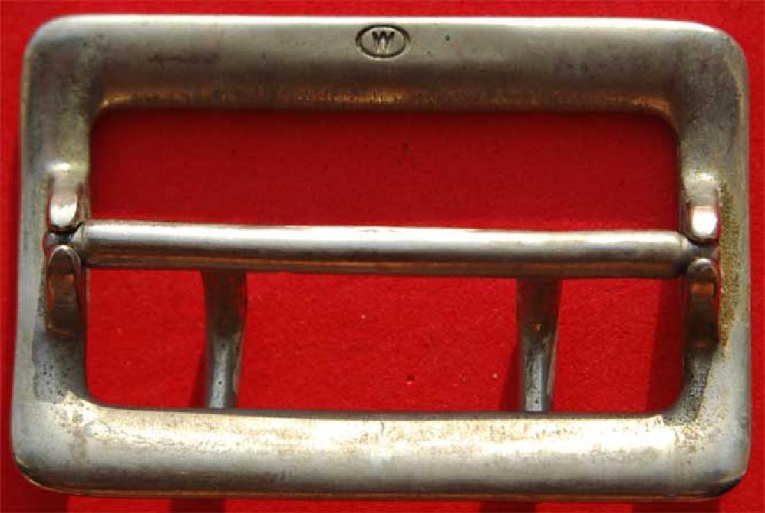 German WW2 Whermacht Officers Belt Buckle, Unusual mark - 2