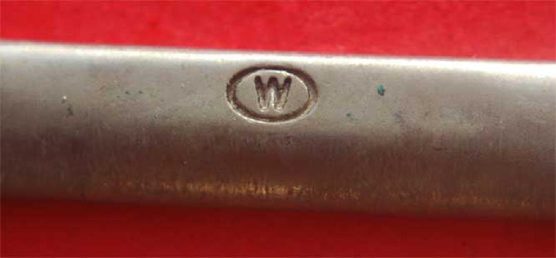 German WW2 Whermacht Officers Belt Buckle, Unusual mark - 6