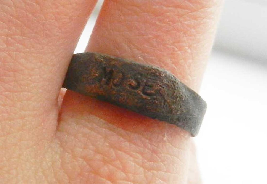 Original Jewish WW2 Ring from Litzmannstadt, 1939 - 5