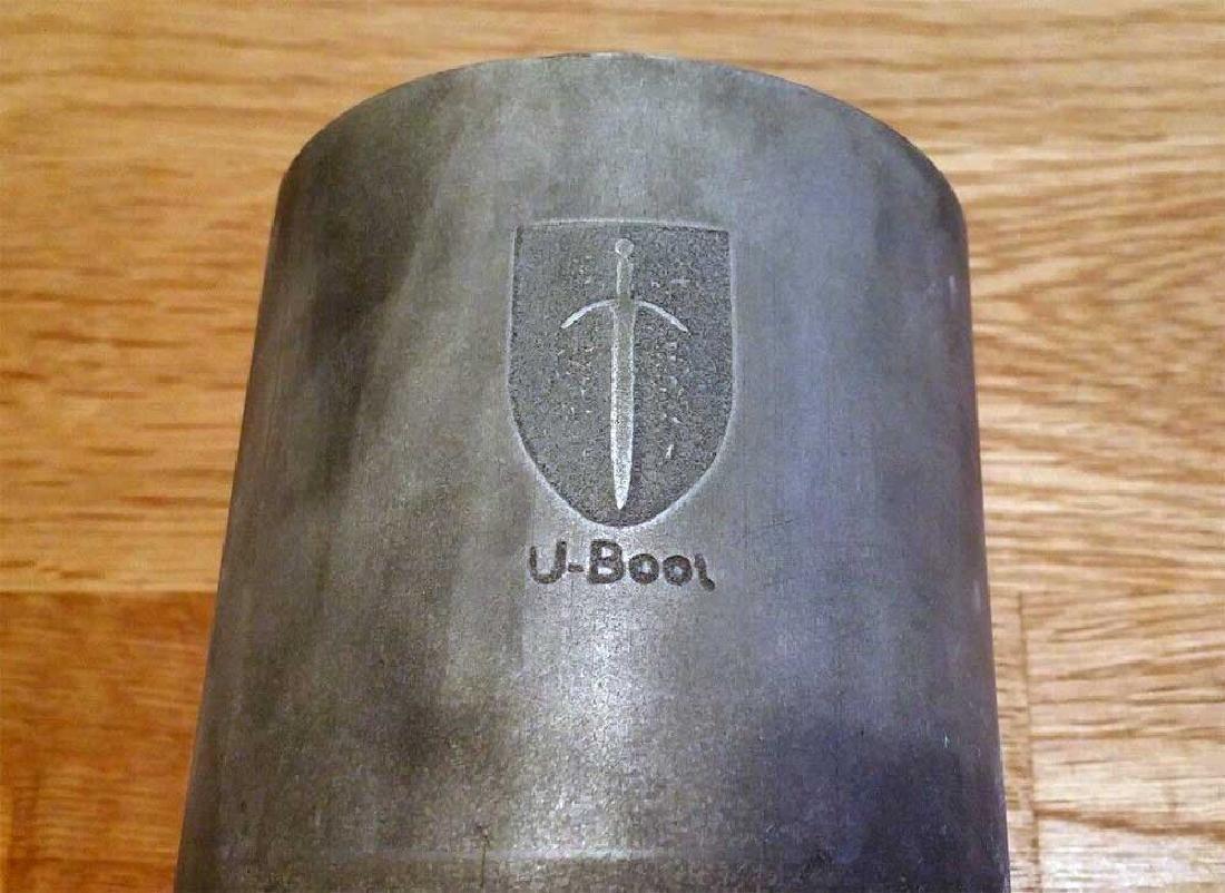 Rare German WW2 U-Boot U-82 Cup w. Emblem - 4