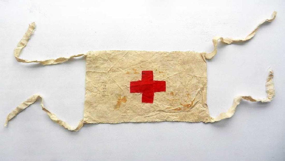 Original WW2 Red Cross Armband from DACHAU