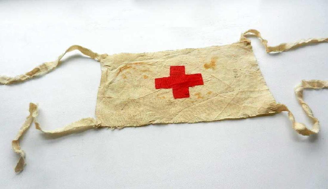 Original WW2 Red Cross Armband from DACHAU - 4