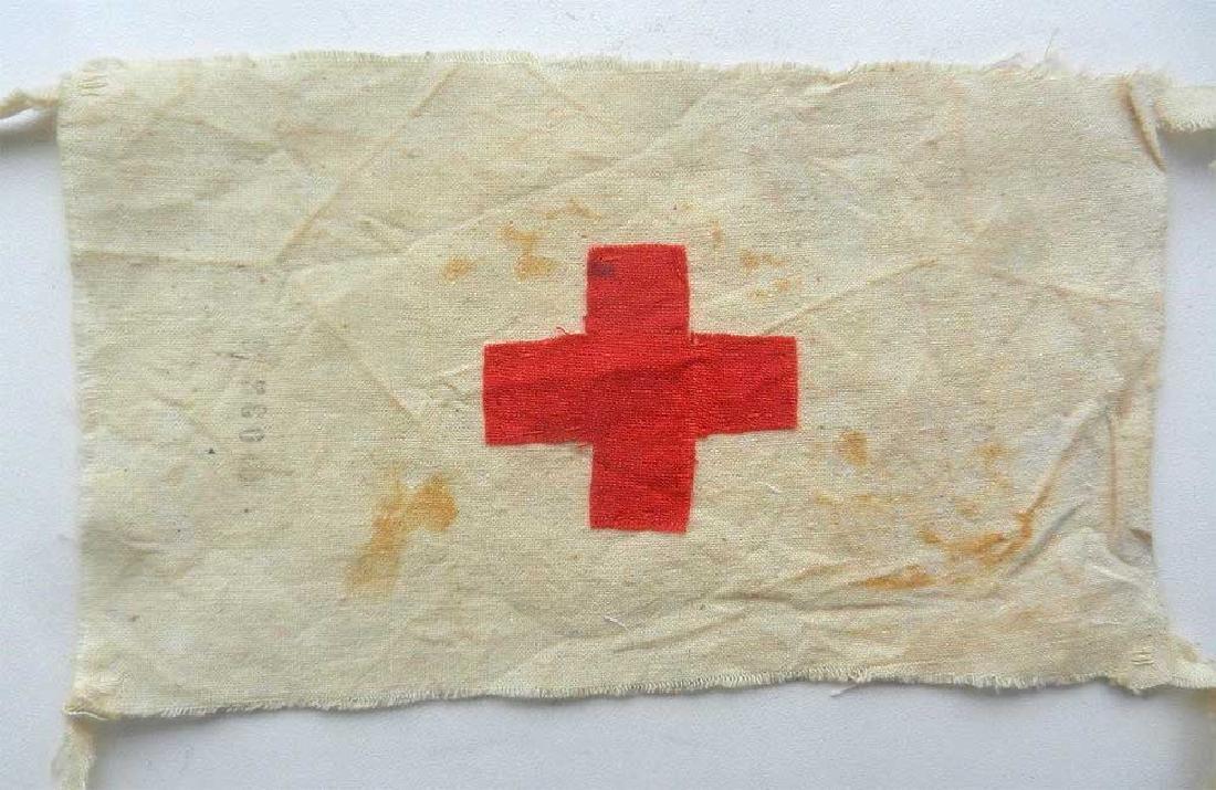 Original WW2 Red Cross Armband from DACHAU - 6