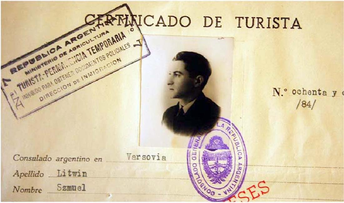 Extremely Rare WW2 Jews WW2 VISA DOCUMENT, 1939 - 2