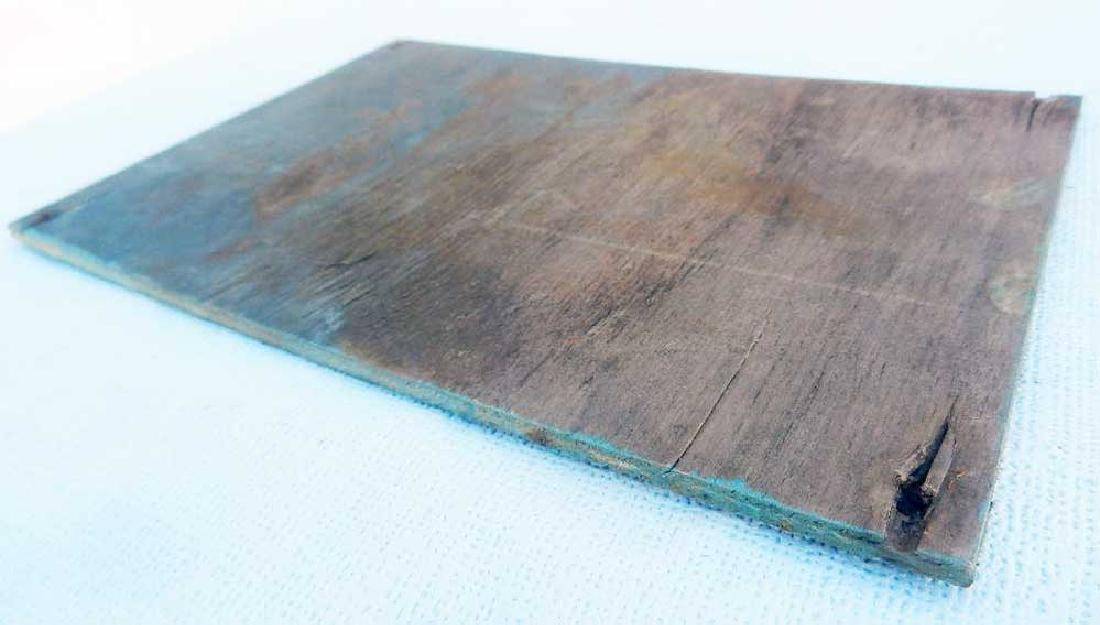 Original German WW2 Plate STOJ, HALT, Stop - 7