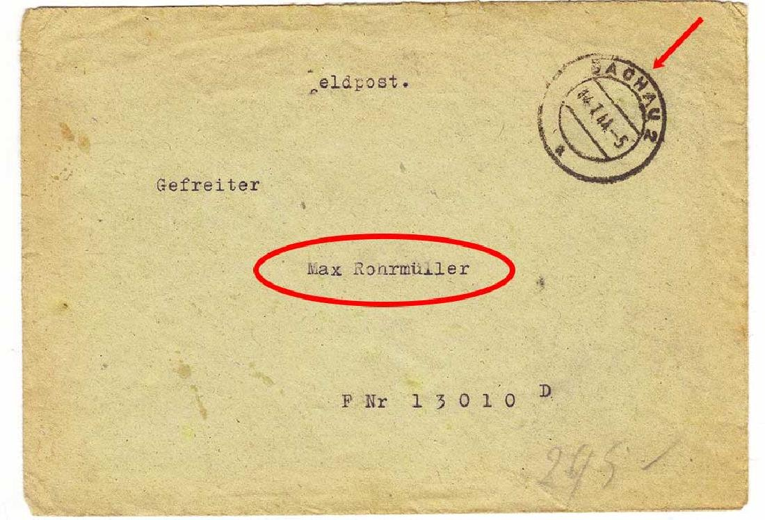 Original German WW2 Plate STOJ, HALT, Stop - 8