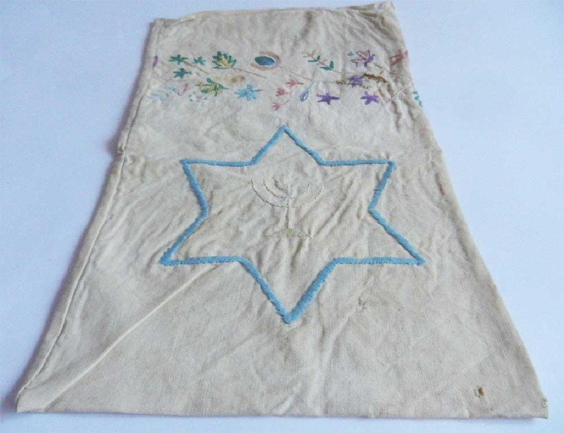 Original Jewish WW2 Old Bag w. Star of David, 1942