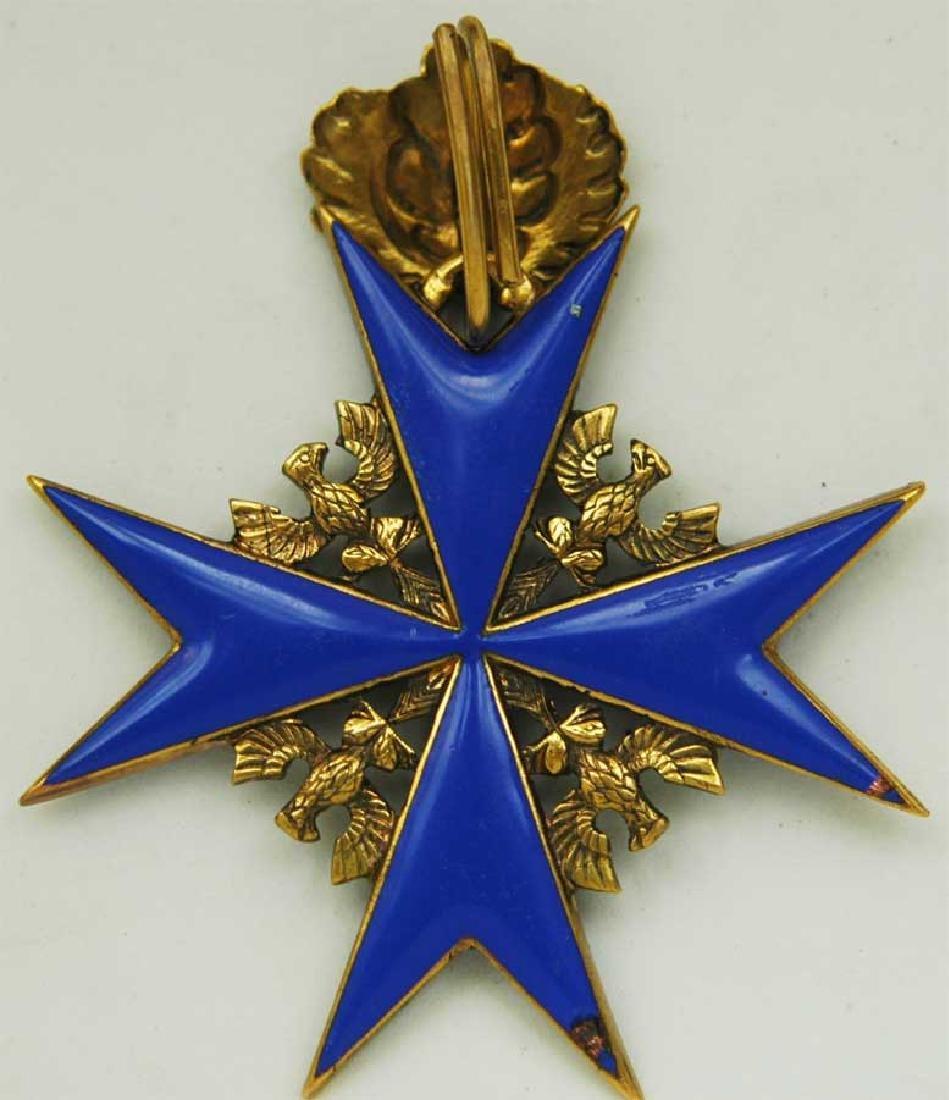 UNIQUE Order Pour le Merite, gold w. Ribbon - 11