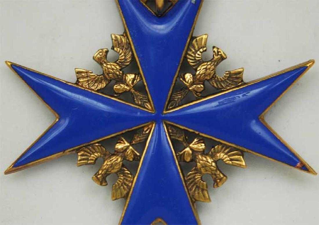 UNIQUE Order Pour le Merite, gold w. Ribbon - 12