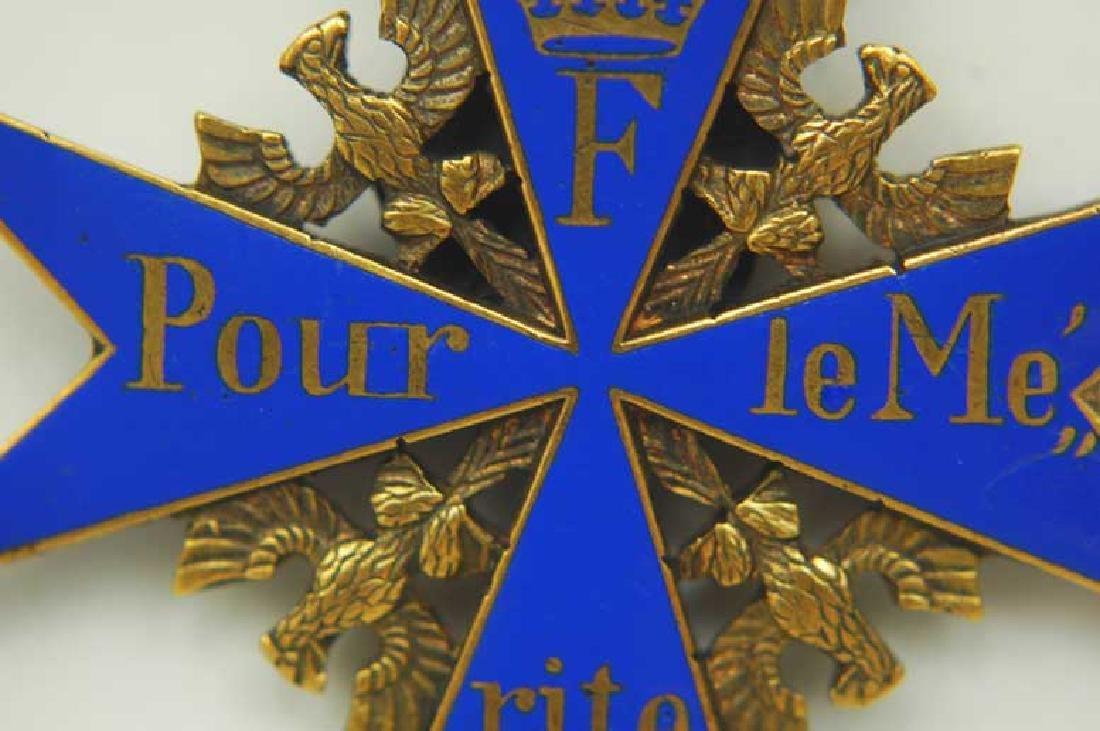 UNIQUE Order Pour le Merite, gold w. Ribbon - 3