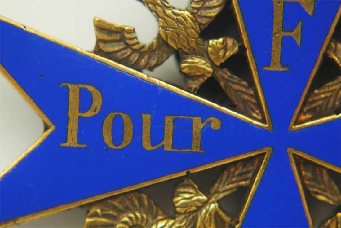 UNIQUE Order Pour le Merite, gold w. Ribbon - 5