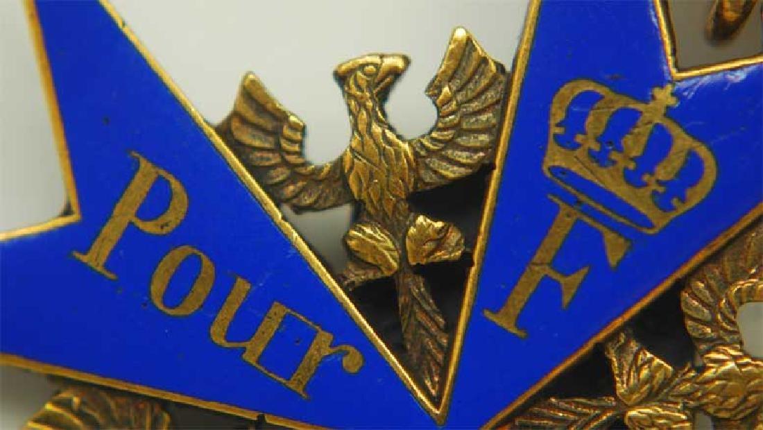 UNIQUE Order Pour le Merite, gold w. Ribbon - 6