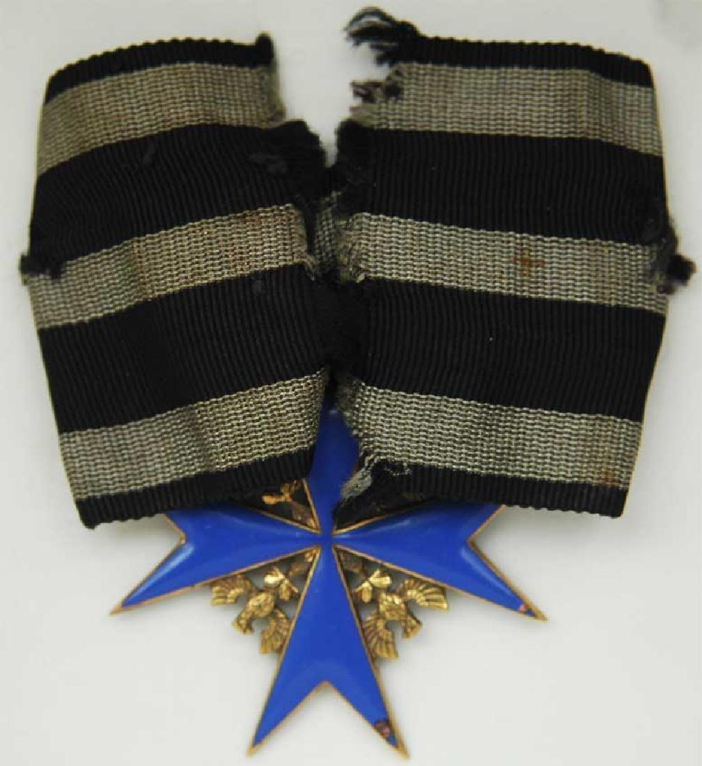 UNIQUE Order Pour le Merite, gold w. Ribbon - 7